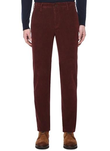 Incotex Pantolon Kırmızı